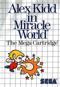Portada de la descarga de Alex Kidd in Miracle World