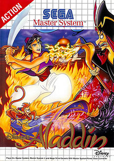 Carátula del juego Aladdin (SMS)