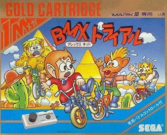 Juego online Alex Kidd BMX Trial (SMS)