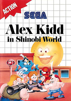 Juego online Alex Kidd in Shinobi World (SMS)
