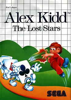 Carátula del juego Alex Kidd The Lost Stars (SMS)