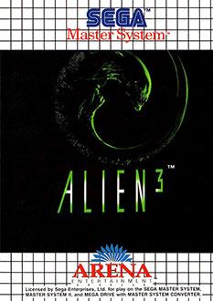 Carátula del juego Alien 3 (SMS)