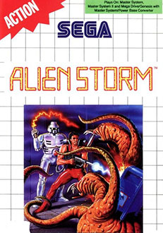 Juego online Alien Storm (SMS)