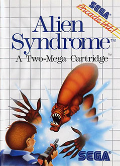 Juego online Alien Syndrome (SMS)