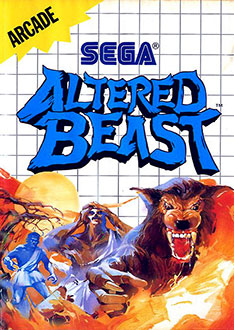Carátula del juego Altered Beast (SMS)