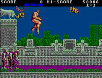 Pantallazo del juego online Altered Beast (SMS)