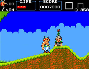 Pantallazo del juego online Asterix (SMS)