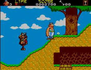 Pantallazo del juego online Asterix and the Secret Mission (SMS)