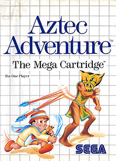 Carátula del juego Aztec Adventure (SMS)