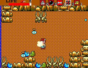 Pantallazo del juego online Aztec Adventure (SMS)