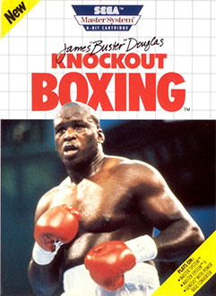Carátula del juego James Buster Douglas Knockout Boxing (SMS)