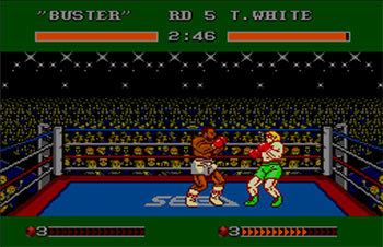 Pantallazo del juego online James Buster Douglas Knockout Boxing (SMS)