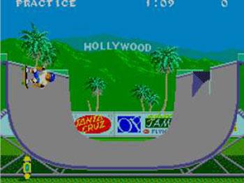 Pantallazo del juego online California Games (SMS)