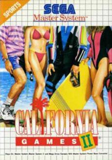 Carátula del juego California Games II (SMS)