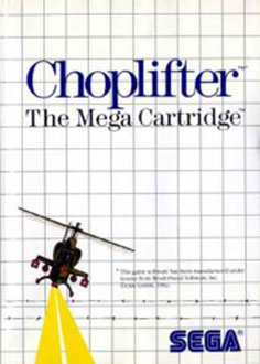 Juego online Choplifter (SMS)