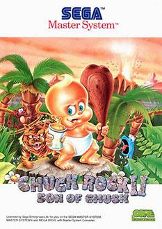 Carátula del juego Chuck Rock II (SMS)