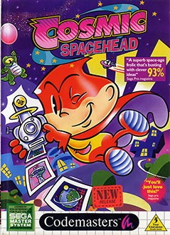 Juego online Cosmic Spacehead (SMS)