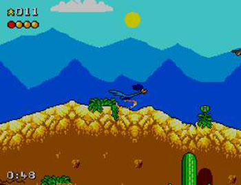 Pantallazo del juego online Desert Speedtrap (SMS)