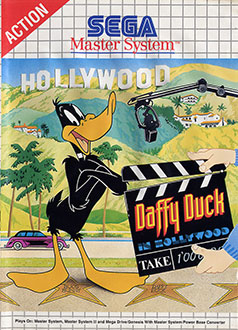 Carátula del juego Daffy Duck in Hollywood