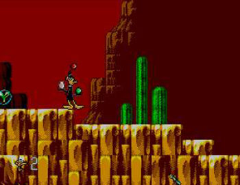 Pantallazo del juego online Daffy Duck in Hollywood