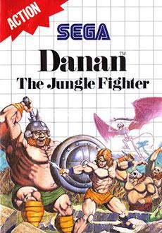 Carátula del juego Danan The Jungle Fighter (SMS)