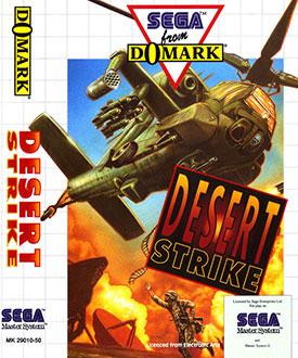 Carátula del juego Desert Strike (SMS)