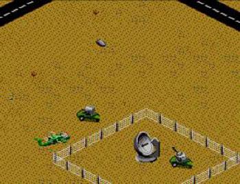 Pantallazo del juego online Desert Strike (SMS)