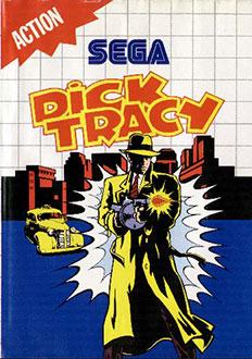 Carátula del juego Dick Tracy (SMS)