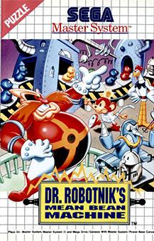 Carátula del juego Dr Robotnik's Mean Bean Machine (SMS)