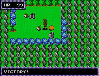 Pantallazo del juego online Dragon Crystal (SMS)