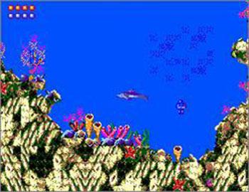 Pantallazo del juego online Ecco the Dolphin (SMS)