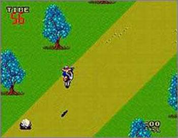 Pantallazo del juego online Enduro Racer (SMS)