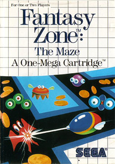 Juego online Fantasy Zone: The Maze (SMS)