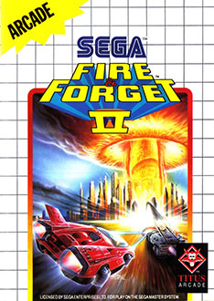 Carátula del juego Fire and Forget II (SMS)