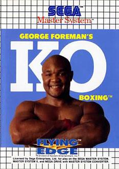 Carátula del juego George Foreman's KO Boxing (SMS)