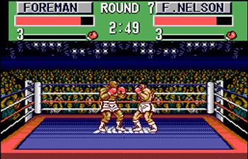 Pantallazo del juego online George Foreman's KO Boxing (SMS)