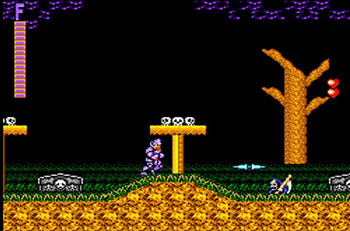 Pantallazo del juego online Ghouls 'N Ghosts (SMS)