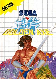 Carátula del juego Golden Axe (SMS)