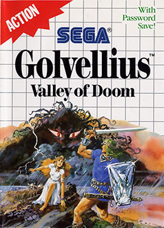 Juego online Golvellius: Valley of Doom (SMS)