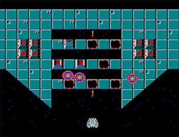 Pantallazo del juego online Hang On and Astro Warrior (SMS)