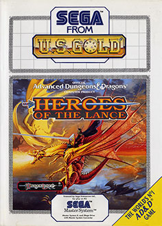 Juego online Heroes of the Lance (SMS)