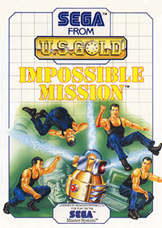Carátula del juego Impossible Mission (SMS)