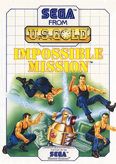 Carátula del juego Impossible Mission (SMS)