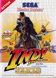 Carátula del juego Indiana Jones and the Last Crusade - The Action Game (SMS)