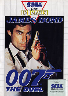 Carátula del juego James Bond 007 The Duel (SMS)