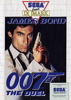 Carátula del juego James Bond 007 The Duel (SMS)