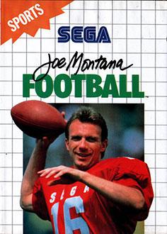 Carátula del juego Joe Montana Football (SMS)