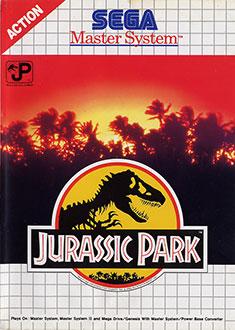 Carátula del juego Jurassic Park (SMS)