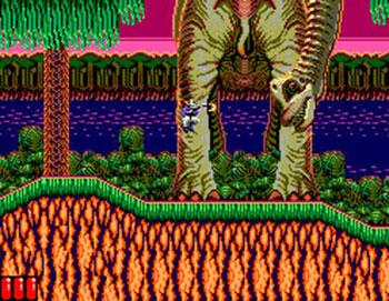 Pantallazo del juego online Jurassic Park (SMS)