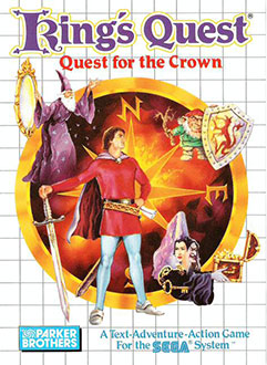 Carátula del juego Kings Quest Quest for the Crown (SMS)